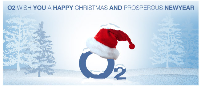 Happy Christmas O2